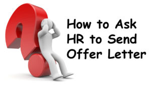 Image of How to Ask HR to Send Offer Letter